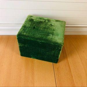 Velvet Keepsake Box